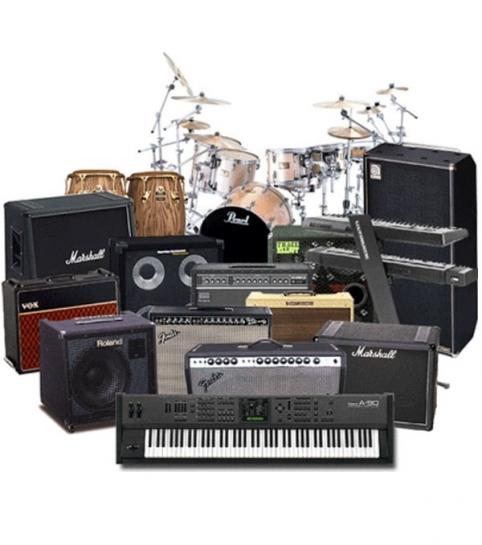 Бэклайн, барабанная установка, комбо-усилители в аренду | MMG
