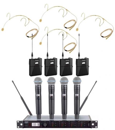 Аренда радиомикрофонов, головных гарнитур и петличек