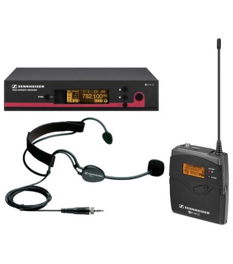 Аренда головного микрофона Sennheiser EW-135 G3 с черной гарнитурой ME3