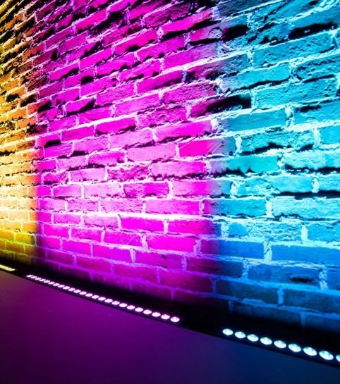 Архитектурная подсветка для зала в аренду | MMG