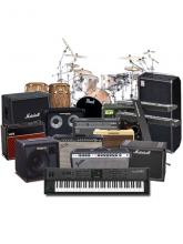 Аренда бэклайна, музыкальных инструментов, перкуссии
