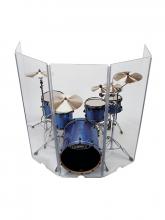 Аренда Drum Shield (прозрачная звукоизолирующая ширма для барабанной установки)