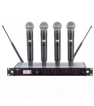 Аренда радиомикрофона Shure ULXD 14QE с 4-х канальным приемником