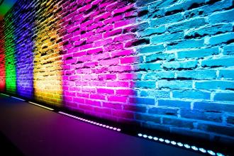 Аренда архитектурной подсветки для зала
