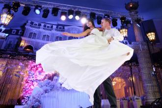 Аренда света на свадьбу