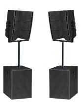Аренда активного комплекта звука 7 кВт